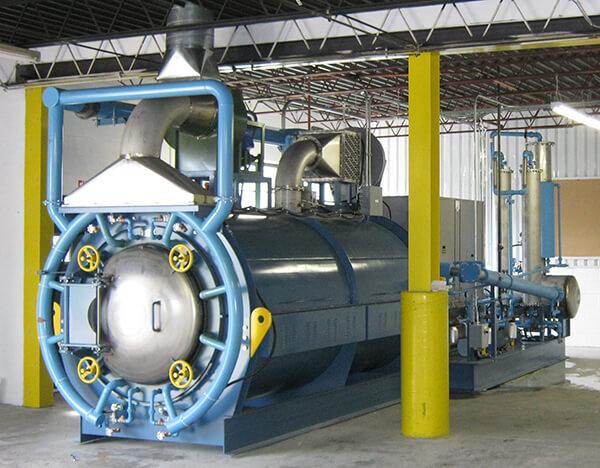 Lamp Recycling Retort - Lochhead Engineering